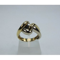 RING WHITE AND YELLOW GOLD