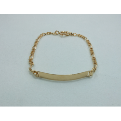 BRACELET YELLOW GOLD CHILD