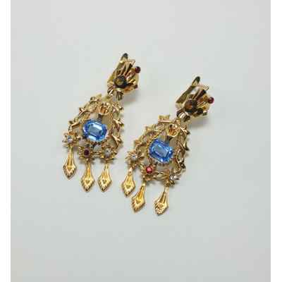 EARRINGS YELLOW GOLD