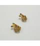 HOOP EARRINGS, YELLOW GOLD
