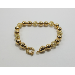 BRACELET IN YELLOW GOLD
