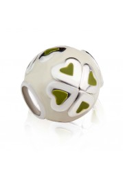 TRINKET BALL WITH SHAMROCKS