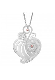 HEART SILVER FILIGREE - UNCONDITIONAL LOVE
