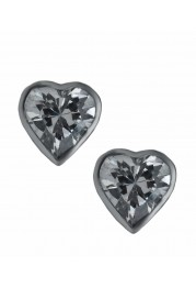 HEART EARRINGS W/ STONE PASSION