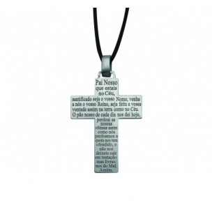 "CROSS SILVER ""OUR FATHER"" PASSION"