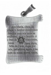 "SILVER MEDAL ""THE PARCHMENT HAIL MARY"" PASSION"
