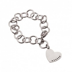 "PULSERA HASSU ""HEART OF HEARTS"""