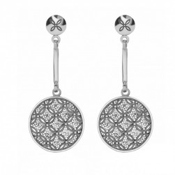 EARRINGS SILVER - CARLOTA