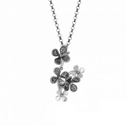 NECKLACE SILVER - SOPHIA