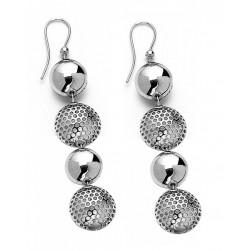 EARRINGS 4 PIECE ROUND C/ NETWORK 2 SMALL-AND LARGE-VERSUS II