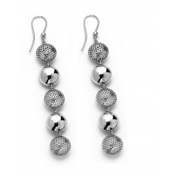 EARRINGS 5-PIECE ROUND C/ NETWORK SMALL VERSUS II