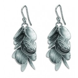 EARRINGS SILVER ETERNAL