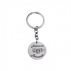 "KEYCHAIN ""I LOVE YOU MOTHER"""